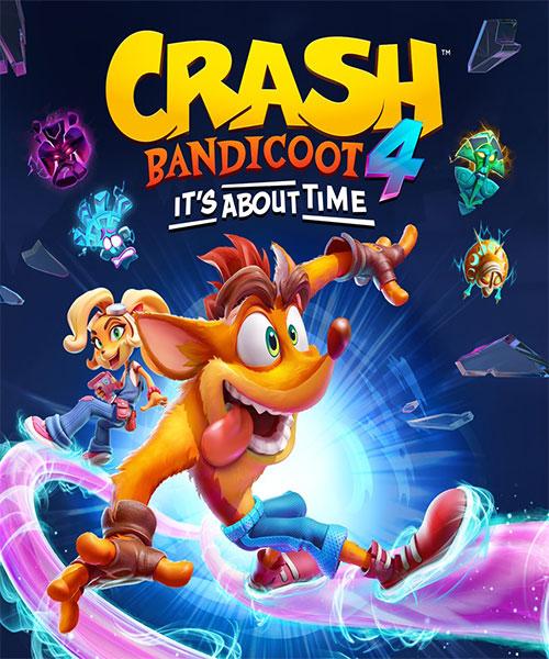 اکانت بازی crash bandicoot 4 برای xbox