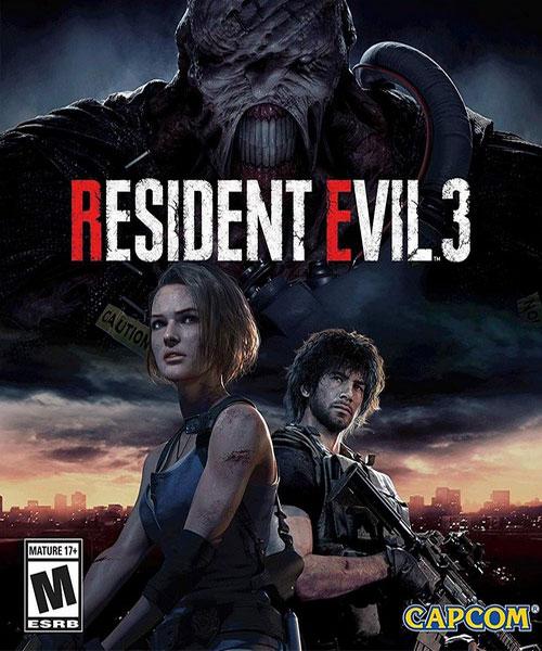 اکانت بازی resident evil 3 برای xbox