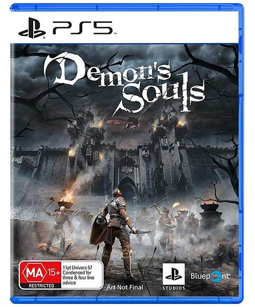 بازی دیسکی demon's souls برای ps5