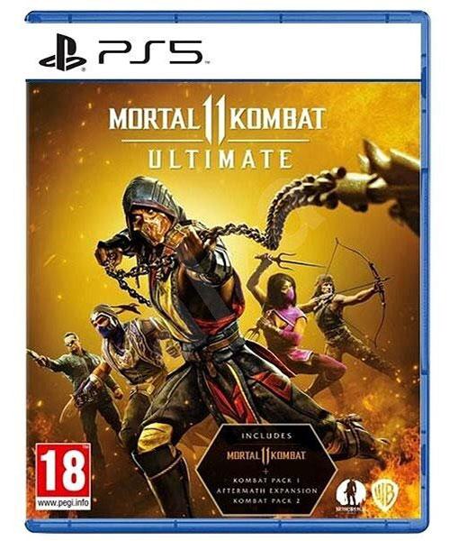 بازی دیسکی mortal kombat 11 ultimate برای ps5