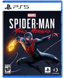 بازی دیسکی spider man miles morales برای ps5