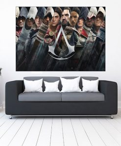 تابلو گیمینگ طرح assassin's creed