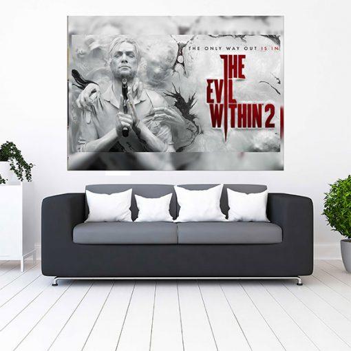 تابلو گیمینگ طرح the evil within 2