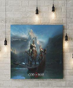 تابلو گیمینگ طرح god of war