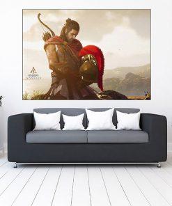 تابلو گیمینگ طرح assassin's creed odyssey