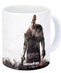 لیوان گیمینگ طرح uncharted 4