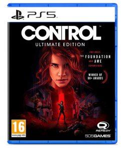 بازی دیسکی control نسخه ultimate edition برای ps5