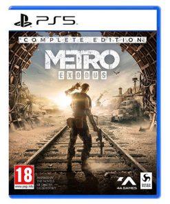 بازی دیسکی metro exodus نسخه کامل برای ps5
