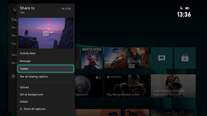 ویژگی جدید xbox series x دکمه share